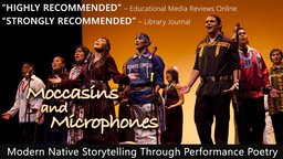 Moccasins And Microphones - Modern Native American Storytelling Through Performance Poetry